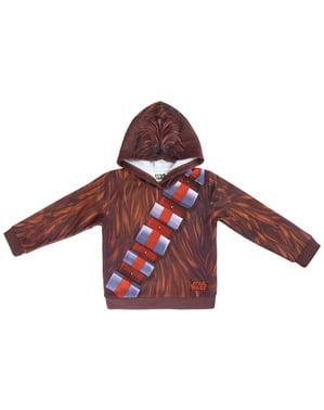 Chewbacca hoodie til børn - Star Wars