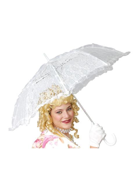 Witte parasol