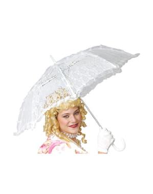 Valkoinen aurinkovarjo