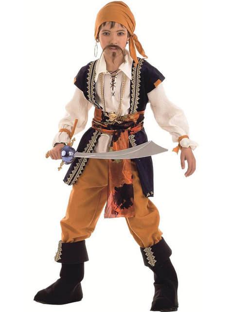Costume da pirata malvagio bambino