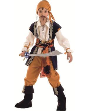 Fato de Pirata malvado para menino