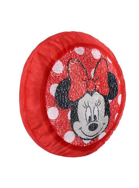 Coussin Minnie Mouse à paillettes - Disney