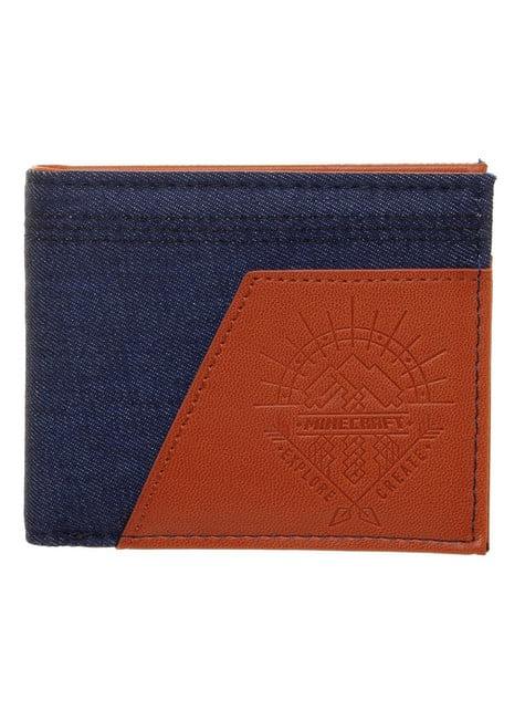 Blue denim Minecraft Adventure wallet