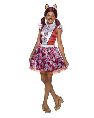 Costume da Felicity la volpe per bambina - Enchantimals