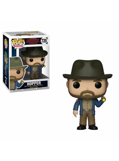 Funko POP! Hopper con linterna - Stranger Things