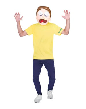 Morty Adult Costume - Rick and Morty