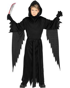 Costum de fantomă mortală pentru copii