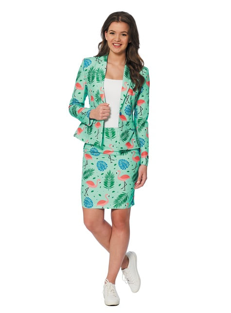 Traje Tropical Flamingo Suitmeister para mujer
