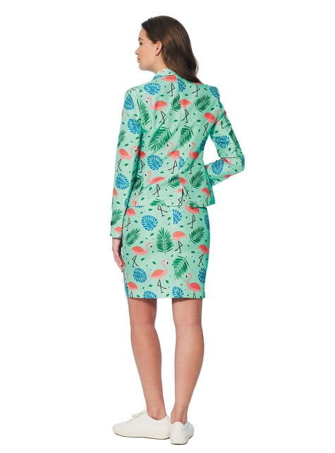 Traje Tropical Flamingo Suitmeister para mujer - mujer
