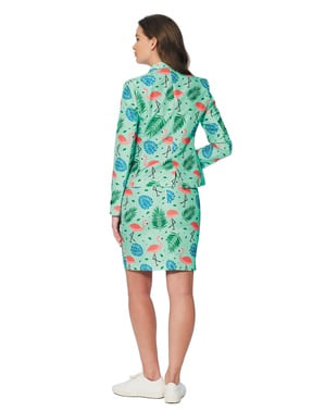 Tropical flamingos Suit for women - Suitmeister