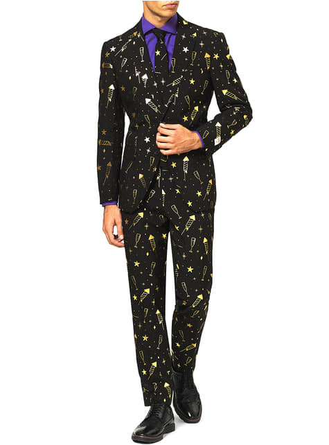Oblek Luxusní Ohňostroj