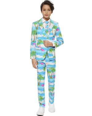 Costume Flamant Rose adolescent - Opposuits