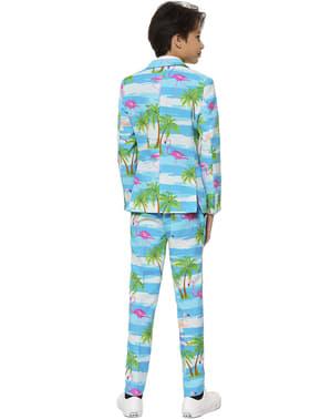 10代の若者のためのFlaminguy Opposuitsスーツ