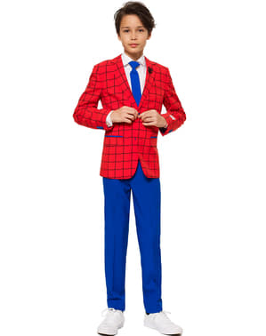 10代の若者のためのスパイダーマンオポススーツ