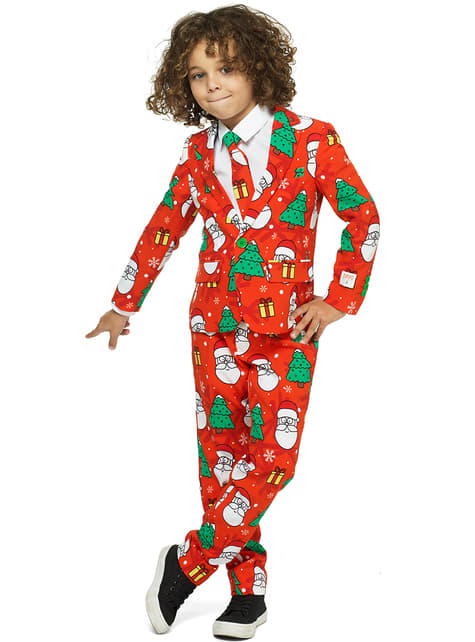 Traje Holiday Hero Opposuits para niño