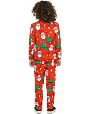 男の子のためのホリデーヒーローオポススーツ
