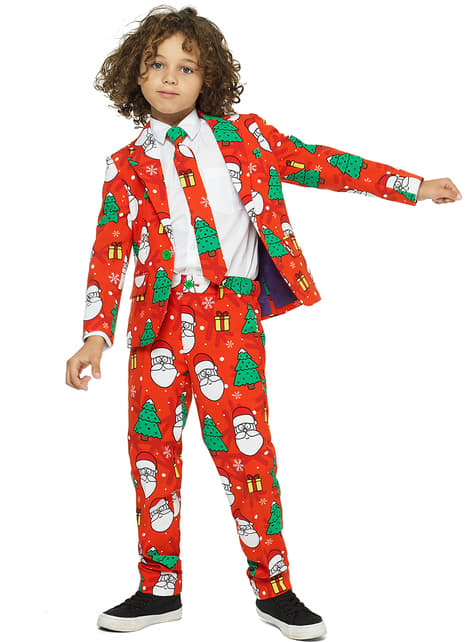Traje Holiday Hero Opposuits para niño - traje