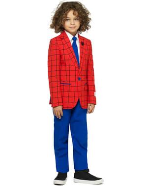 男の子のためのスパイダーマンオポススーツ