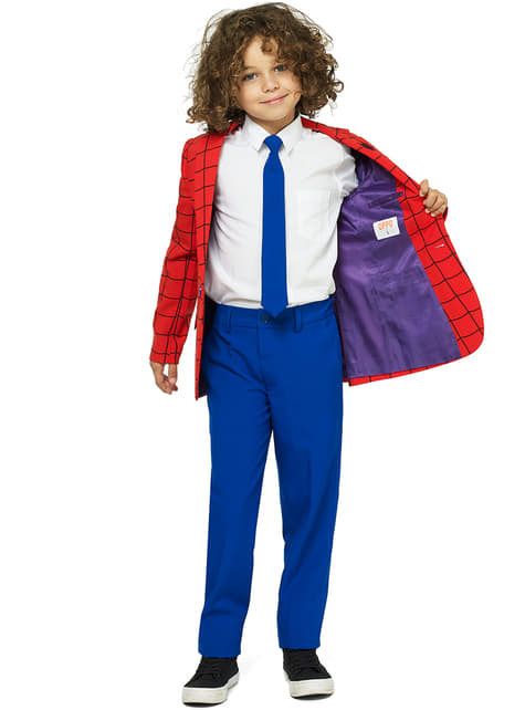 Traje Spiderman Opposuits para niño - traje