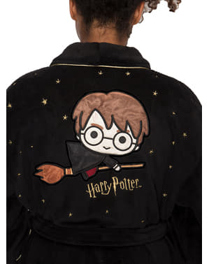 Roupão polar de Harry Potter Kawaii para adulto