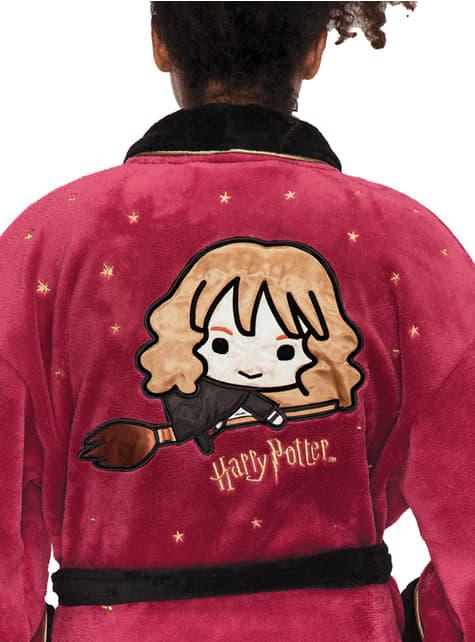 Roupão de Hermione Kawaii para mulher - Harry Potter