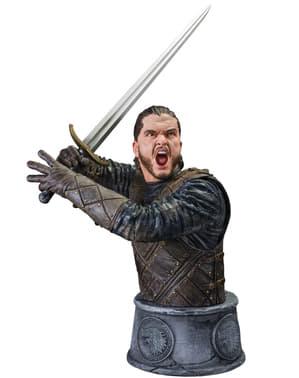 Busto di Jon Snow Battaglia dei Bastardi 15 cm - Game of Thrones