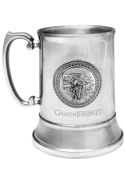 Jarra Juego de Tronos Casa Stark