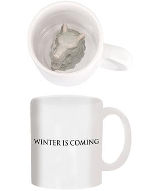 Mug Game of Thrones Stark
