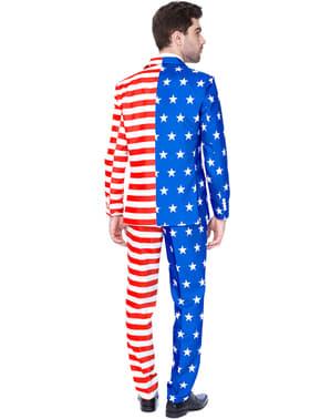 Garnitur Suitmaster flaga USA dla mężczyzn