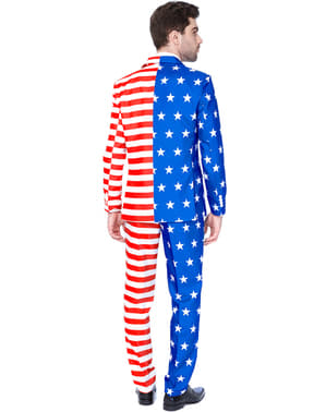 Suitmaster USA Flag Dress til Menn