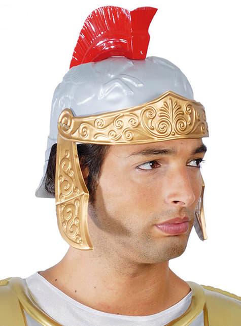 Casco de romano luchador