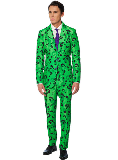 Traje The Riddler Suitmeister para hombre