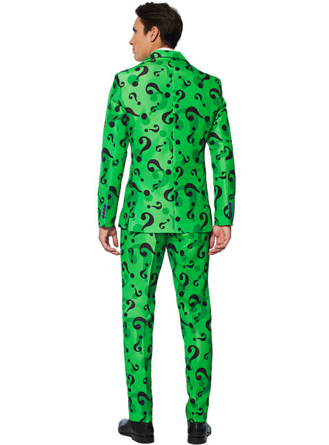 Kostym The Riddler Suitmeister vuxen