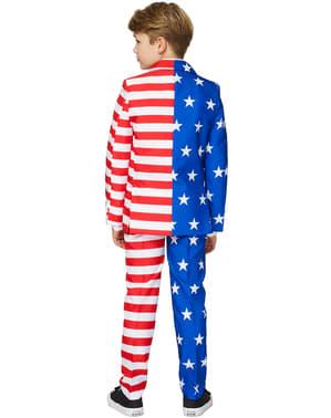 Abitoin stile Bandiera Stati Uniti per bambino - Suitmeister