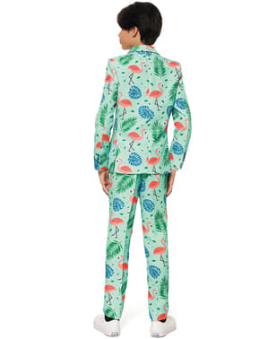 Tropical flamingos Suit for kids - Suitmeister