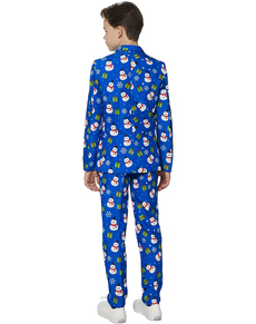 Traje Christmas Blue Snowman Suitmeister para niño