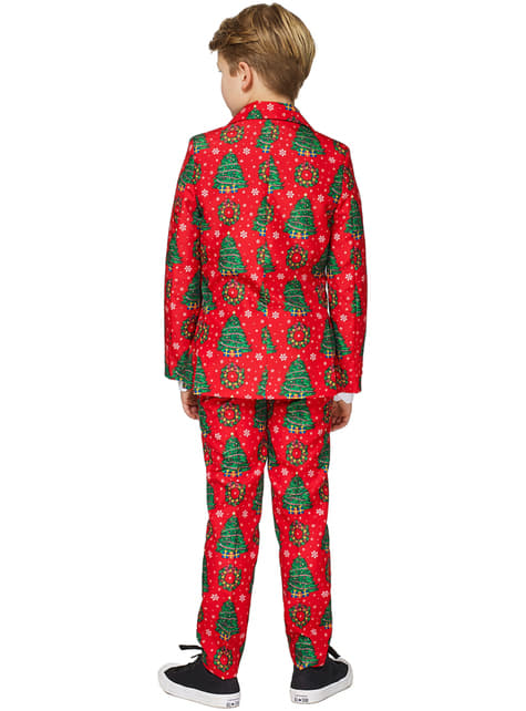 Christmas trees Suitmeister suit for boys