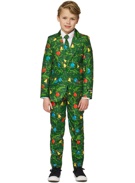 Green trees Suitmeister suit for boys