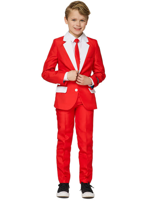 Suitmaster Santa Outfit Suit for Boys