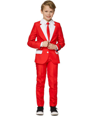 Kerstman Outfit Suitmeister voor jongens