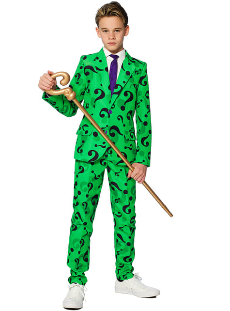 Suitmaster Riddler Suit for Boys - DC Comics
