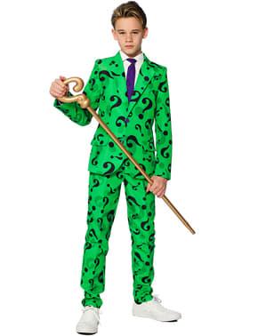 Vestito L'Enigmista Suitmeister per bambino - DC Comics