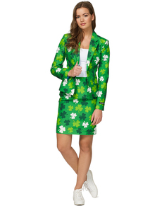 Traje St Patrick's Day Clovers Suitmeister para mujer