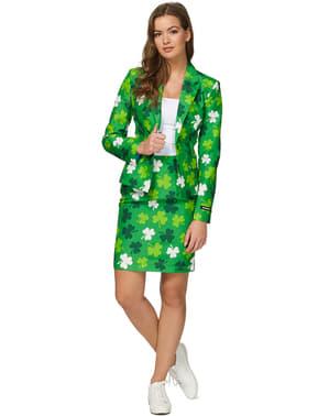 Suitmaster St. Patrick's Day Kløver Jakkesæt til Kvinder