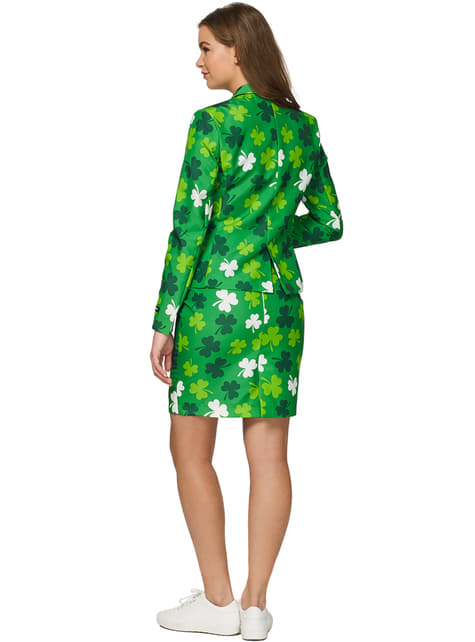 Costume St Patrick's Day Clovers Suitmeister femme