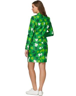 Suitmaster - Pyhän Patrickin päivän neliapilat -puku naisille