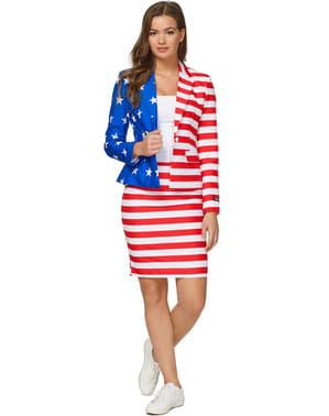 Suitmaster oblek vlajka USA dámský