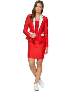 महिलाओं के लिए सूटमास्टर सांता आउटफिट सूट
