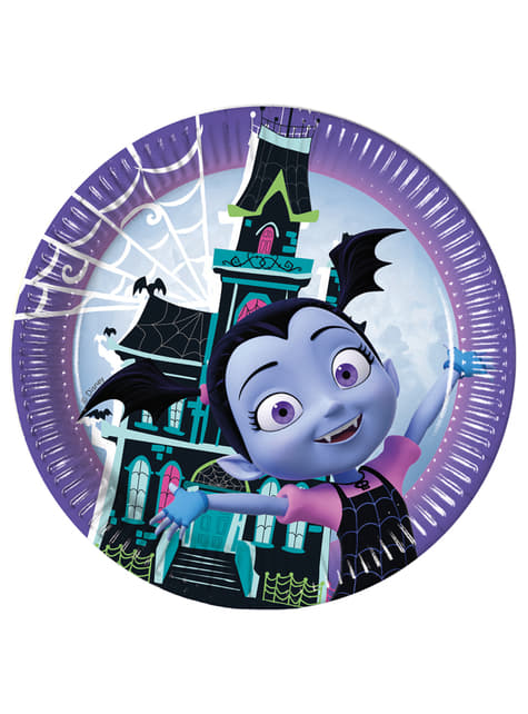 Set of 8 Vampirina plates