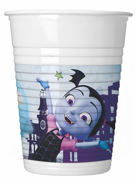 Set of 8 Vampirina cups